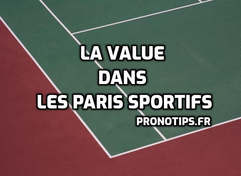 La Value dans les paris sportifs